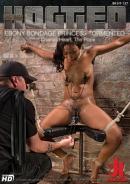 Hogtied - Ebony Bondage Princess Tormented