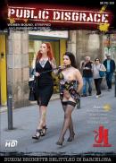 Public Disgrace - Buxom Brunette Belittled in Barcelona