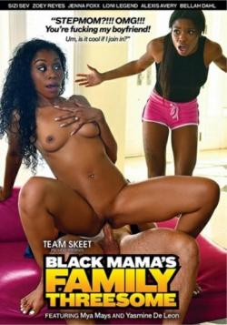 Black Mamas Family Threesome