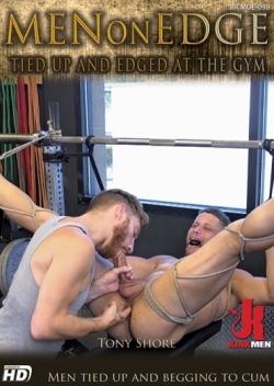 Tied up and Edged at The Gym